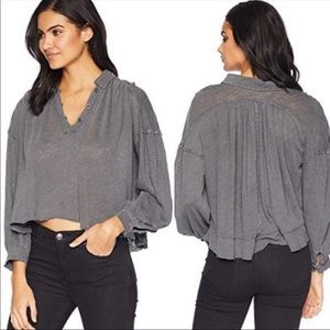 NWT Free People Rush Hour Top